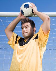 Imagen de un jugador de soccer