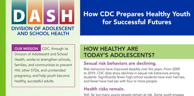 Snapshot cover: How CDC Prepares Healthy Youth for Successful Futures