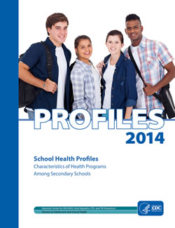 2014 School Health profile cover