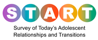 logo: Survey  of Today's Adolescent Relationships and Transitions (START)