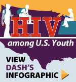 HIV among U.S. Youth. View DASHs infographic