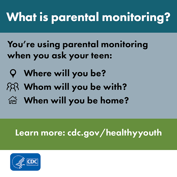 DASH Parental Monitoring Asks