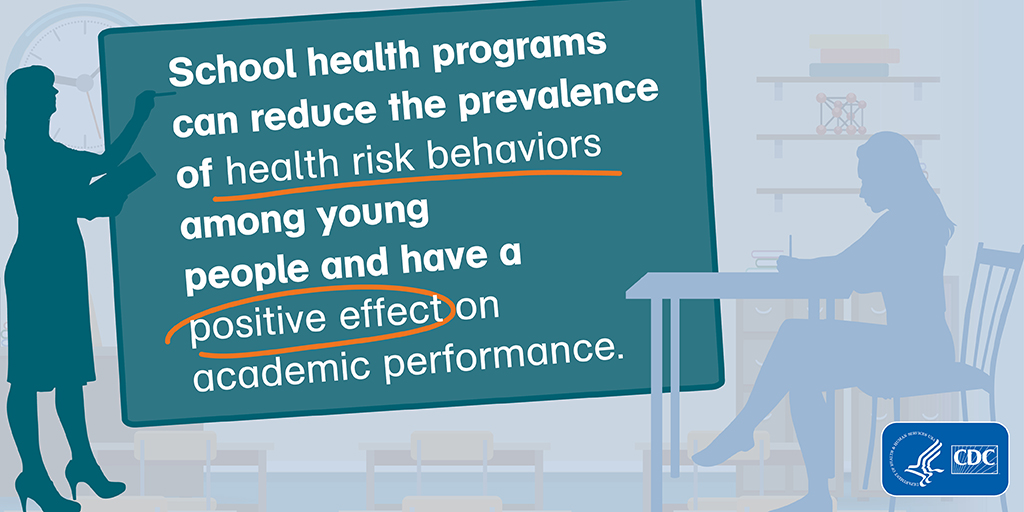 Schools play a critical role in promoting the health and saftey of young people and helping them establish lifelong healthy behaviors.