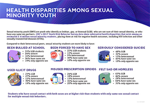 First National CDC Study of Lesbian, Gay, and Bisexual Student Health Palm Card