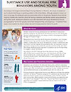 Fact Sheet: Substance Use and Sexual Risk Behaviors Among Youth Thumbnail