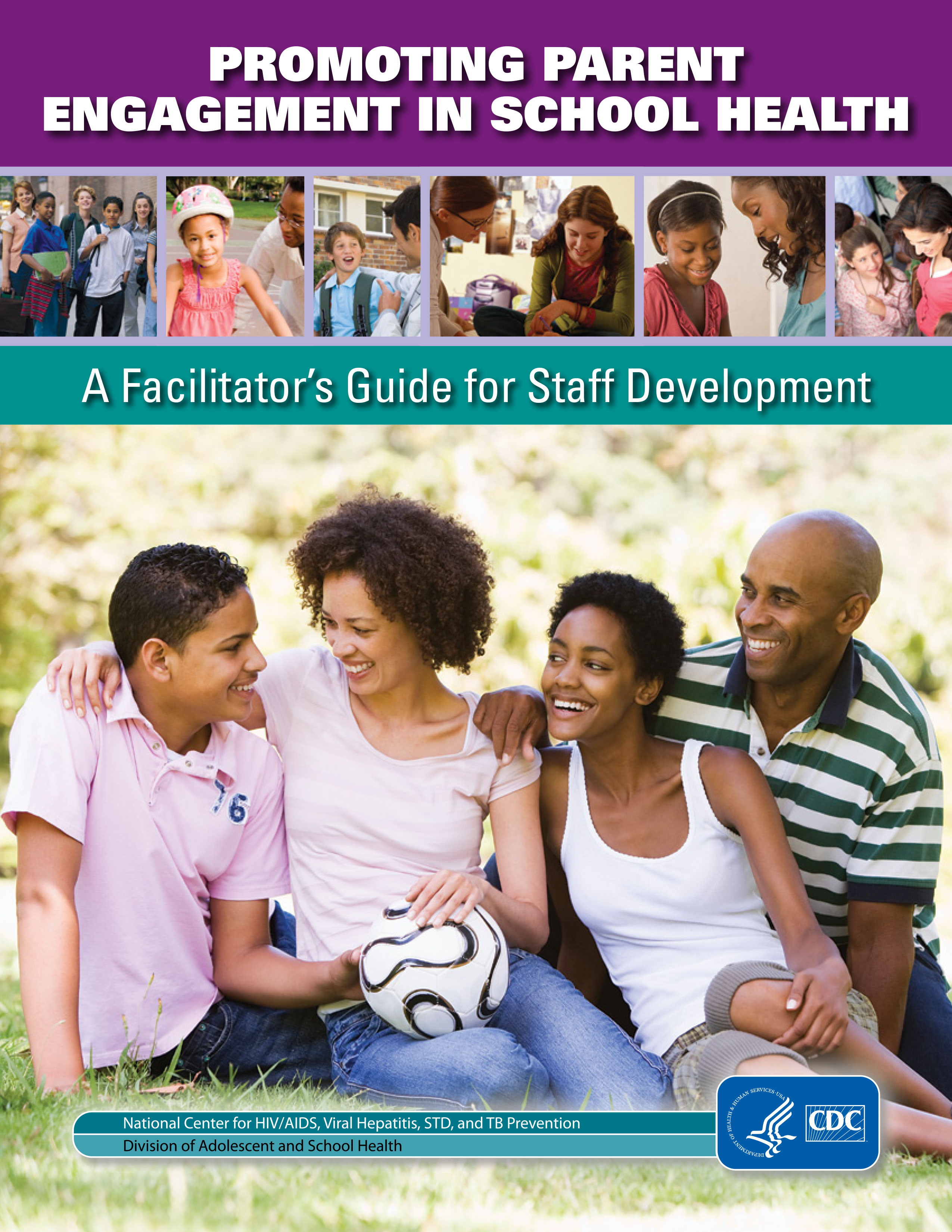 Cover for Parent Engagement Facilitators Guide