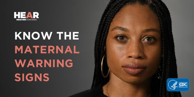 2 in 3 pregnancy-related deaths are preventable. Learn the urgent maternal warning signs and listen when pregnant women or new moms share concerns. It could help save her life.    #HearHer #AllysonFelix