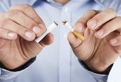 Smoking is a key risk factor for heart disease.