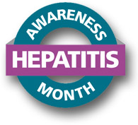 Logo for Hepatitis Awareness Month