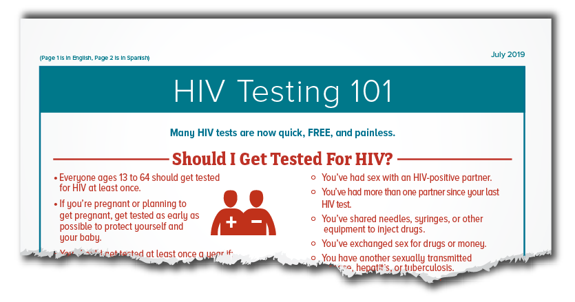 testing | hiv basics | hiv/aids | cdc, Skeleton
