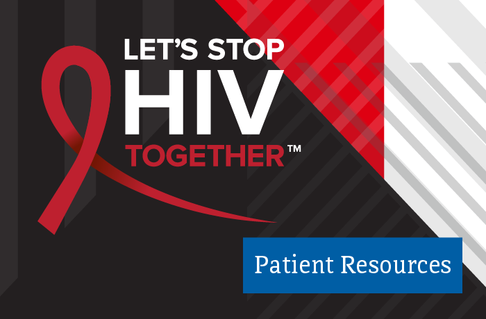 Patient Resources - Let's Stop HIV Together