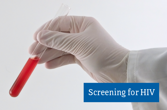 Screening for HIV