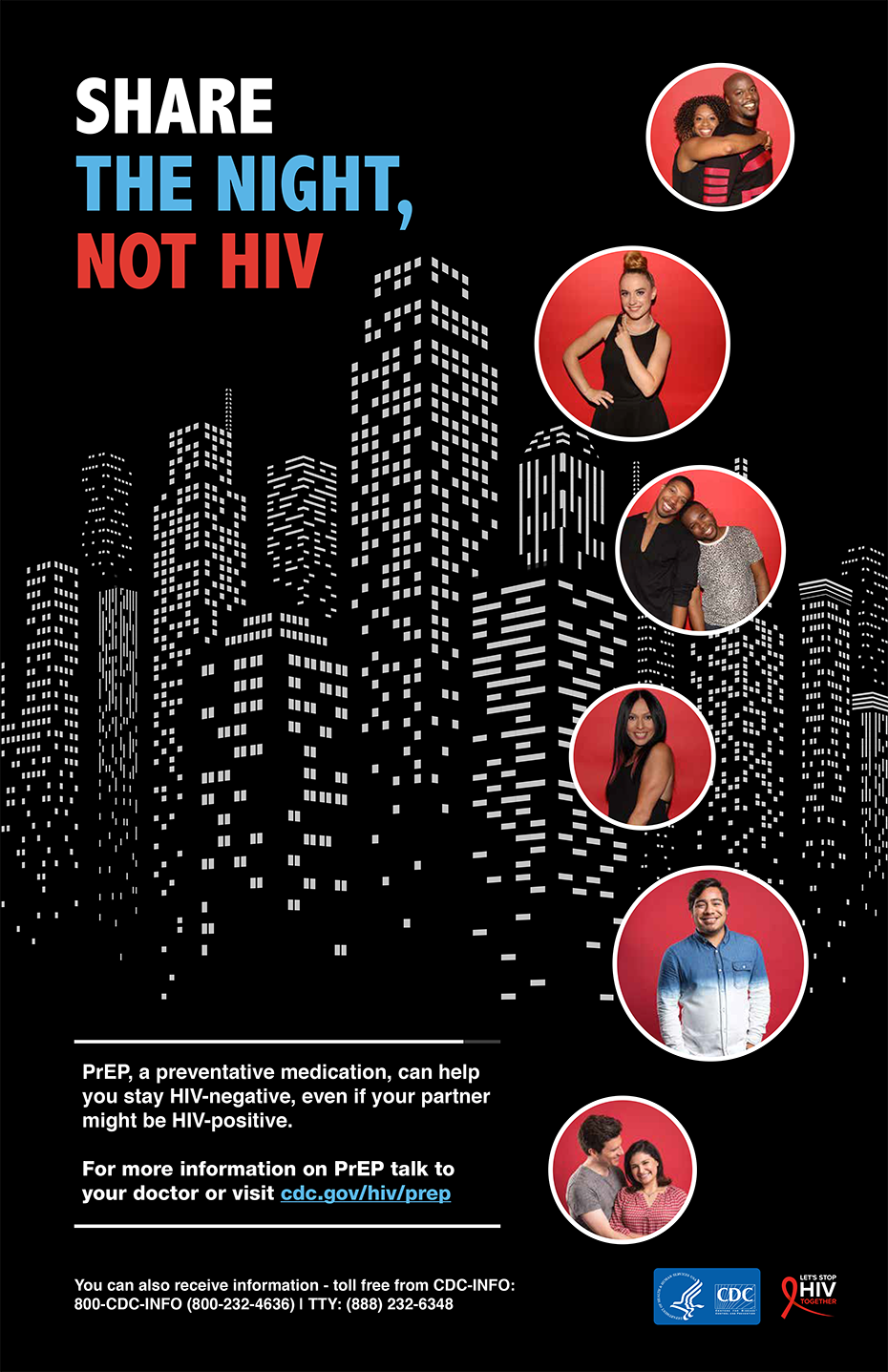 Poster: Share the Night, Not HIV