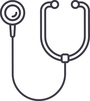 illustration of stethoscope
