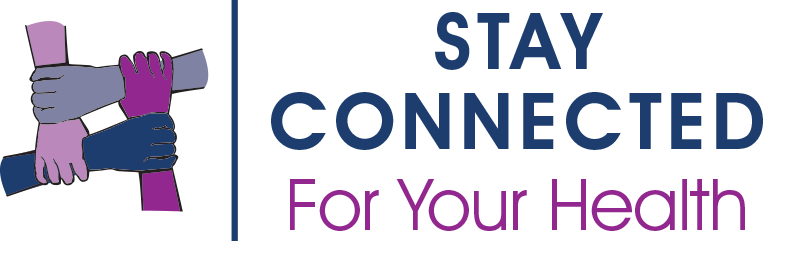Stay Connected for Your Health (logo)