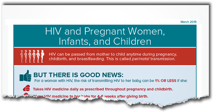 HIV and Pregnant Women, Infants, and Children fact sheet