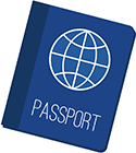 icon of a passport