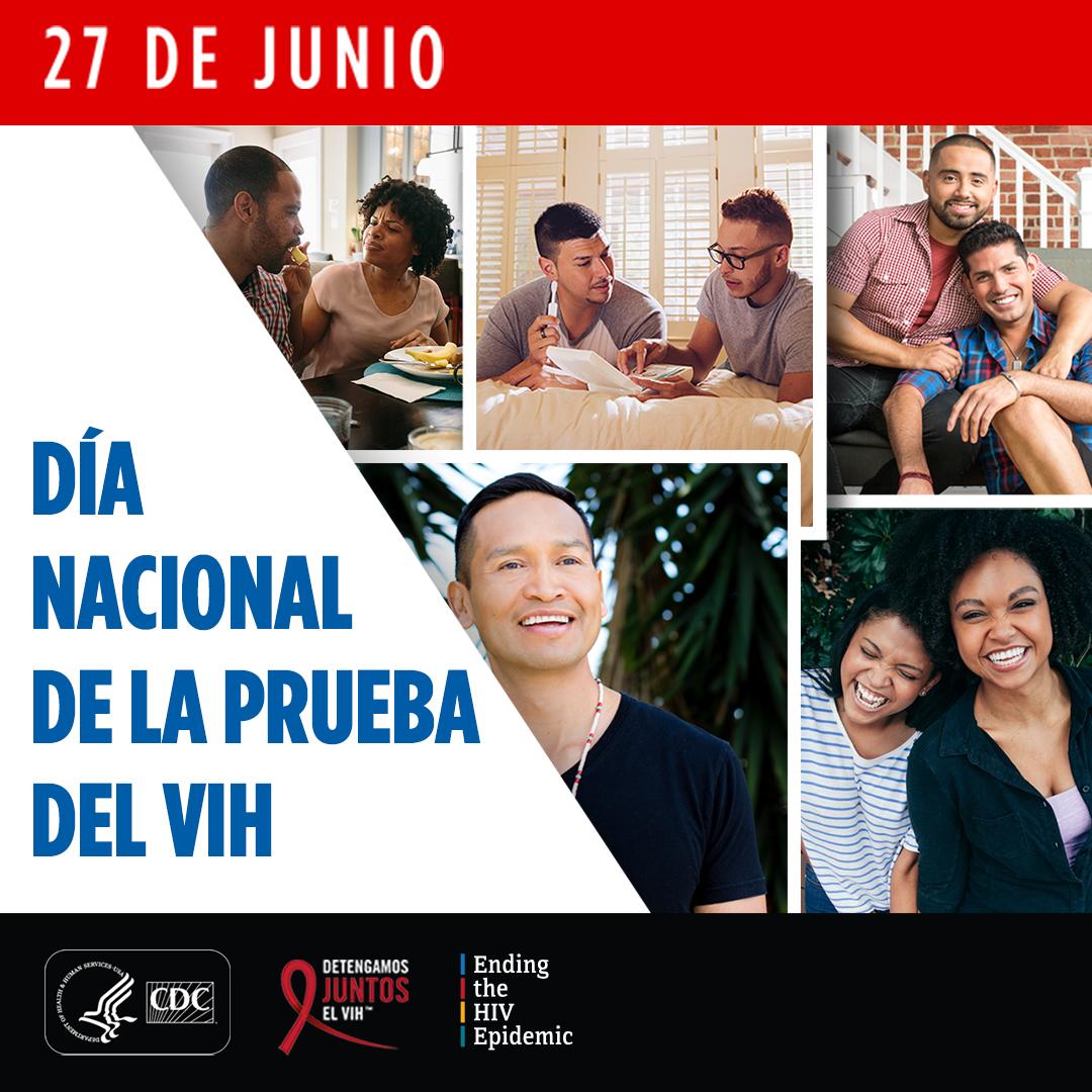 27 de junio. Día Nacional de la Prueba del VIH.