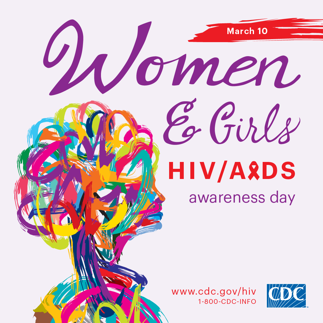 This Facebook and Instagram Optimized graphic promotes National Women and Girls HIV/AIDS Awareness Day on May 10. For more information, visit www.cdc.gov/hiv.
