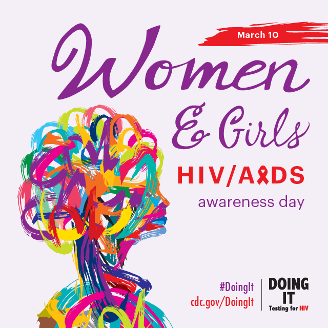 This Instagram graphic promotes National Women and Girls HIV/AIDS Awareness Day on May 10. For more information, visit www.cdc.gov/hiv.