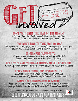 Youth poster: Get Involved