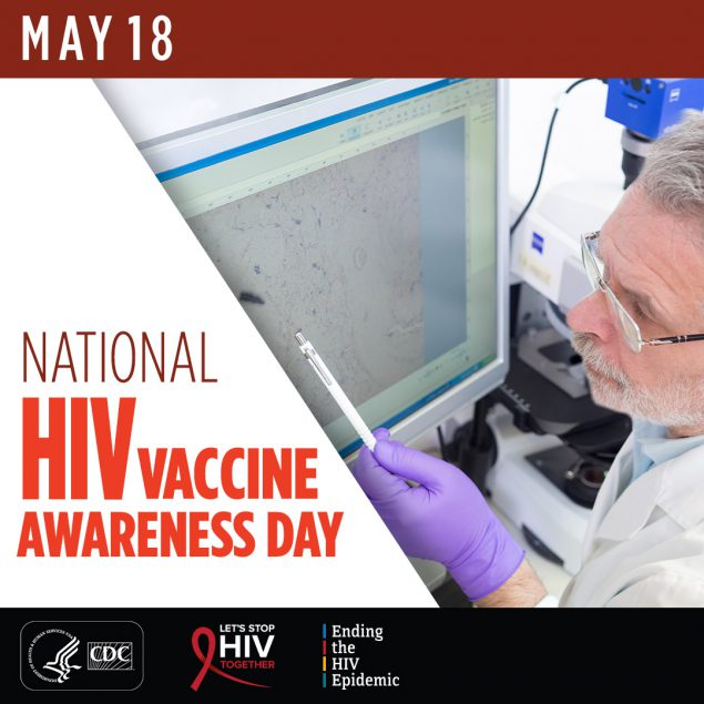 National HIV Vaccine Awareness Day - May 18