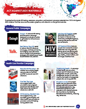 World AIDS Day 2018 Partner Toolkit