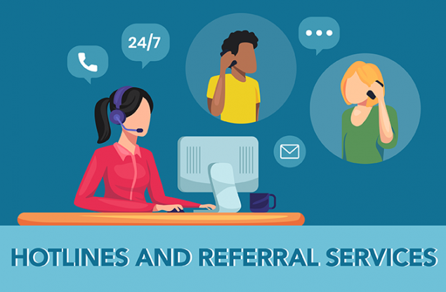 Hotlines and Referral Services