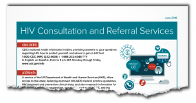 HIV Consultation and Referral Services - torn image thumbnail