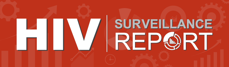 HIV Surveillance Report banner