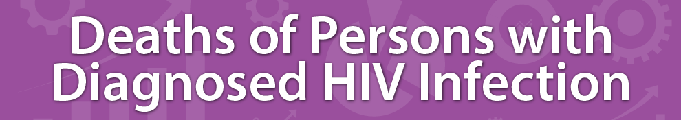 HIV Surveillance - Deaths of Persons with Diagnosed HIV Infection