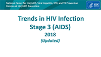Cover slide: Epidemiology of HIV Infection 2018 (preliminary)