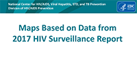 Cover slide - HIV Surveillance Maps