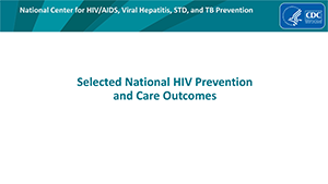 Selected%20National HIV Prevention and Care Outcomes