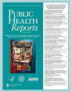 CAPUS Supplement in Public Health Reports - thumbnail image