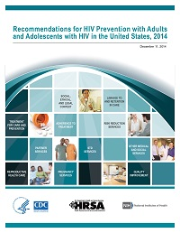 Cover: Recommendations for HIV Prevention with Adults and Adolescents with HIV in the United States, 2014