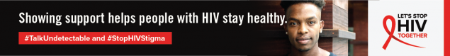 Showing Support Helps People with HIV Stay Healthy