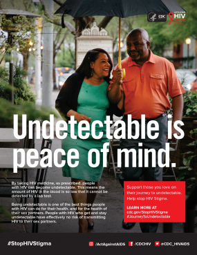 Undetectable is Peace of Mind