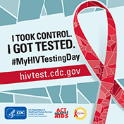 Today is #MyHIVTestingDay