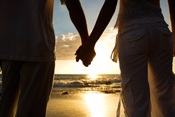 Picture of Couple holding hands