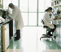 photo of 2 Scientist in Laboratory