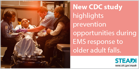 STEADI CDC Study on EMS Prevention Opportunities