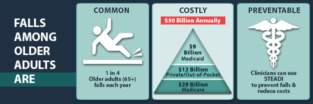 Falls Among Older Adults Are: Common, Costly, Preventable