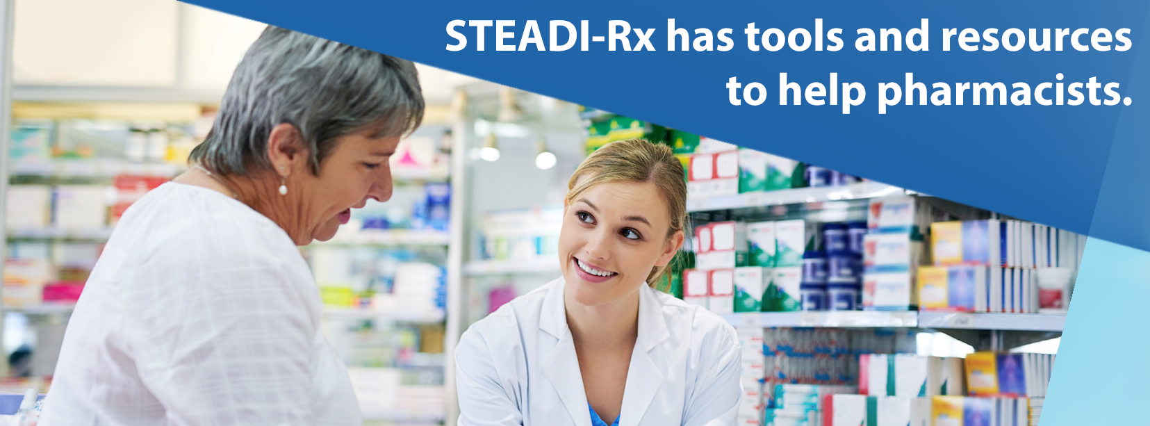 STEADI-Rx has tools and resources to help pharmacists.