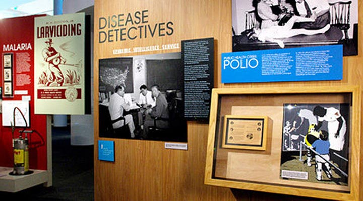 On the Museum's lower level, explore CDC's storied history at your own pace through our world-class permanent exhibits.