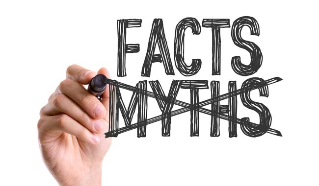 Facts, not myths
