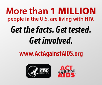 More than 1 Million People in the U.S. are Living with HIV. Get the facts. Get tested. Get involved. www.cdc.gov/actagainstaids