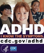 ADHD: I know the symptoms. cdc.gov/adhd