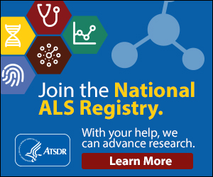 Join the National ALS Registry. With your help, we can advance research. Learn More.
