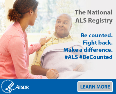 The National ALS Registry. Be Counted. Fight Back. Makes a difference.